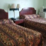 2  beds with fresh paint and new bathroom and flat tv