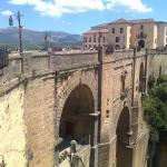 Famous bridge in Ronda (300m away)