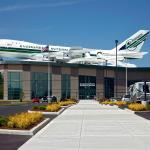 747 where 4 slides launch