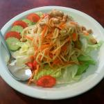 The papaya salad is highly recommended - it was wonderful!