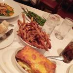 Flemings Potatoe, French Fries, Spicy Thai Green Beans