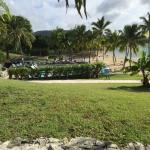 Looking from our lanai. Pool, bar & restaurant to the left & beach to the right.