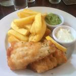Fish and Chips ( Lunch the following day)