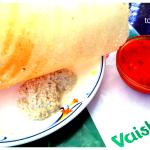 Butter Sada Dosa and Sambar to die for
