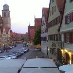 Blick auf den Weinmarkt aus dem Hotel Eisenkrug