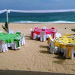 Club de Playa, comida