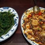 Seasonal Vegetables and Tofu Fish. Heavenly!