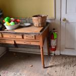 kitchen of farmhouse