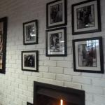 Charlie C decor and fireplace