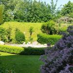 Sauna mit Garten und Heubett