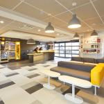 Réception et espace lounge