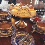 Afternoon tea at Maids of Honour