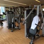 airconditioned gym