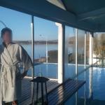 piscina cubierta / descubierta vista Lago Argentino