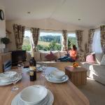 Glen Clova 2 bedroom caravan holiday home to hire