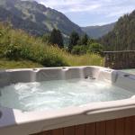 Ourdoor spa and sun terrace