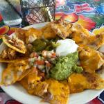top shelf chicken nachos