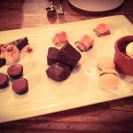 Dessert sampler. Amazing.