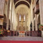 the altar of St. George's Cathedral