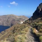Hiking Trail Fira - Oia Foto