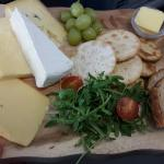 Cheese boards and anti pasti boards available well worth the money