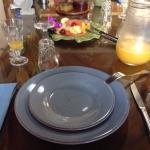 Muy rico desayuno y con productos frescos. Con atención buena por parte  del señor Nicholas y la