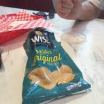 Don't advertise Lay's potato chips but serve Wise.