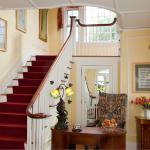 Staircase to our romantic suites