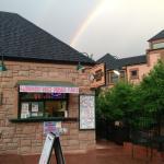 Rainbow over the Colorado Custard Company
