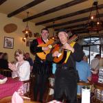 WanderingTtroubadors serenade us in The Cottage
