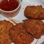 Prawn Cakes and Sweet Chilli Sauce