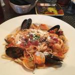 Oliva - Seafood Served over Linguine