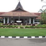 Bintan Lagoon resort entrance
