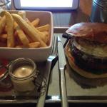 April Lamb Burger special