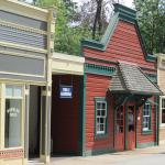 some of the buildings along main street.