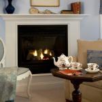 Sip tea fireside in a romantic suite in Lenox, MA