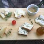 New cheeses platter...