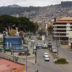 Foto desde el 4to.piso, hermosa vista de Cusco.-