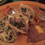 The three taco plate