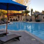 Gage Hotel pool.
