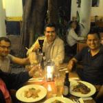 Cena de negocios en La Casona