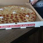 The Granddaddy Pizza! 26 inches!
