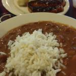 Red beans and rice and sausage