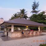 Bar on pool