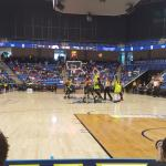 Tip off as the Dallas Wings
