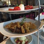 Im Restaurant Quick Time Lunch, auf die Schnelle sehr zu empfehlen (Filetspitzen)