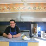 Stavros the master of the Gyros.