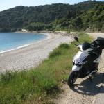 The coast road between Katelios and Poros, add it to your bucket list