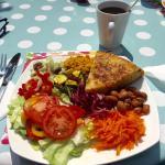 Lovely Fresh Tasty Salad in the Garden