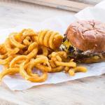 Classic Burger at The Burger Shack